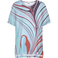 Colour Pleasure Koszulka damska CP-033 284 niebiesko-fioletowa r. uniwersalny. T-shirty damskie Colour Pleasure. Za 76.57 zł.
