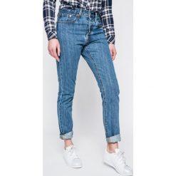 Levi's - Jeansy 501. Brązowe jeansy damskie Levi's. W wyprzedaży za 349.90 zł.