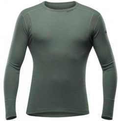 Devold Koszulka Męska Hiking Man Shirt Forest S. Szare koszulki sportowe męskie Devold, na lato, z wełny, z długim rękawem. Za 279.00 zł.