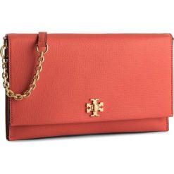 Torebka TORY BURCH - Kira Clutch 45294 Poppy Red 614. Brązowe torebki do ręki damskie Tory Burch, ze skóry. W wyprzedaży za 869.00 zł.