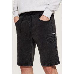 Jeansowe szorty - Czarny. Szorty damskie marki KIPSTA. W wyprzedaży za 39.99 zł.
