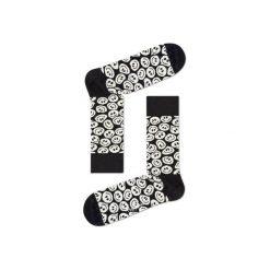 Skarpetki Happy Socks - Twisted Smile (TSM01-9000). Szare skarpety męskie Happy Socks, w kolorowe wzory, z bawełny. Za 34.90 zł.