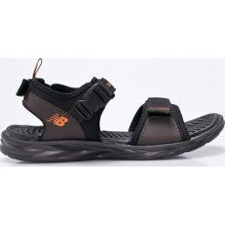 New Balance - Sandały. Szare sandały męskie New Balance, z gumy. W wyprzedaży za 149.90 zł.