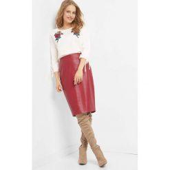 Ołówkowa spódnica. Czerwone spódnice damskie Orsay, z poliesteru. Za 79.99 zł.