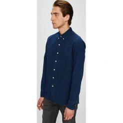 Levi's - Koszula. Brązowe koszule męskie Levi's, z bawełny, button down, z długim rękawem. Za 199.90 zł.