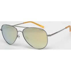 Polaroid - Okulary PLD6012N. Brązowe okulary przeciwsłoneczne męskie Polaroid, z materiału. Za 339.90 zł.