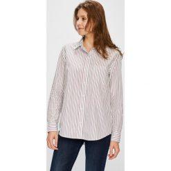 Levi's - Koszula. Brązowe koszule damskie Levi's, z bawełny, z długim rękawem. Za 259.90 zł.