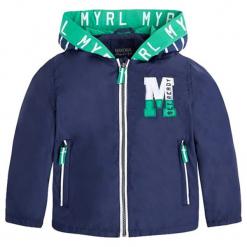 Kurtka w kolorze granatowym. Niebieskie kurtki i płaszcze dla chłopców marki Mayoral. W wyprzedaży za 134.95 zł.