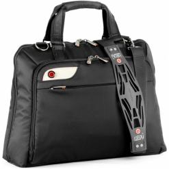 """I-Stay IS0106 15.6"""" czarna. Czarne torby na laptopa damskie i-Stay, w paski. Za 249.00 zł."""