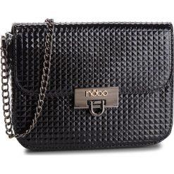 Torebka NOBO - NBAG-FF0040-C020 Czarny. Czarne torebki do ręki damskie Nobo, ze skóry ekologicznej. W wyprzedaży za 119.00 zł.