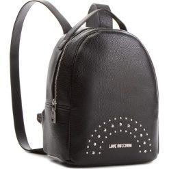 Plecak LOVE MOSCHINO - JC4117PP16LU000B Nero/Nk. Czarne plecaki damskie Love Moschino, ze skóry ekologicznej, eleganckie. Za 719.00 zł.
