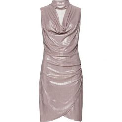 Sukienka bonprix złocisty. Żółte sukienki damskie bonprix, glamour. Za 129.99 zł.