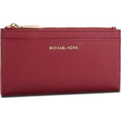 Duży Portfel Damski MICHAEL MICHAEL KORS - Money Pieces 32S8GF6D7L Maroon. Czerwone portfele damskie MICHAEL Michael Kors, ze skóry. Za 369.00 zł.