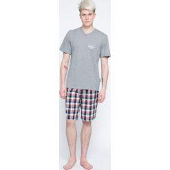 Henderson - Piżama Mash. Szare piżamy męskie Henderson, z bawełny. W wyprzedaży za 59.90 zł.