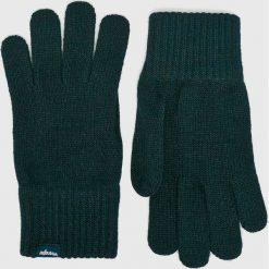 Wrangler - Rękawiczki. Czarne rękawiczki męskie Wrangler. Za 79.90 zł.
