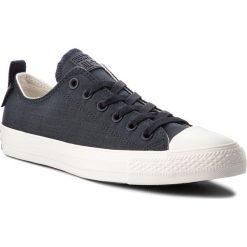 Trampki CONVERSE - Ctas Ox 161434C Black/Egret/Gum. Czarne trampki męskie Converse, z gumy. W wyprzedaży za 249.00 zł.