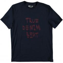 Mustang T-Shirt Męski, Xl, Ciemnoniebieski. Czarne t-shirty męskie Mustang, z napisami. Za 78.00 zł.