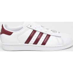 Adidas Originals - Buty Superstar. Szare obuwie sportowe damskie adidas Originals, z materiału. Za 399.90 zł.