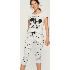 Piżama Mickey Mouse - Jasny szar. Szare piżamy damskie Sinsay, z motywem z bajki. Za 69.99 zł.
