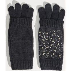 Rękawiczki - Czarny. Czarne rękawiczki damskie Sinsay. Za 29.99 zł.