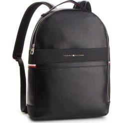 Plecak TOMMY HILFIGER - Th Business Backpack AM0AM04243 002. Czarne plecaki damskie Tommy Hilfiger, ze skóry ekologicznej. Za 699.00 zł.