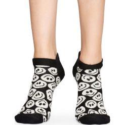 Happy Socks - Stopki Twisted Smile. Szare skarpety damskie Happy Socks, z bawełny. Za 49.90 zł.