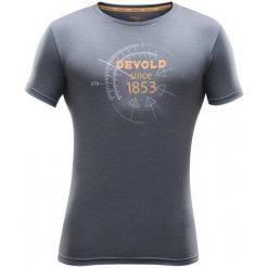 Devold Koszulka Compass Man Tee Catlerock Xxl. Szare t-shirty i topy dla dziewczynek Devold, z wełny, z krótkim rękawem. Za 315.00 zł.