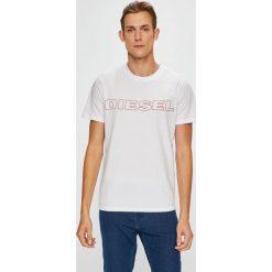 Diesel - T-shirt/polo UMLT.JAKE.0DARX. Szare koszulki polo męskie Diesel. Za 169.90 zł.