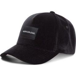 Czapka z daszkiem CALVIN KLEIN JEANS - J Velvet Cap K60K604782 016. Czarne czapki i kapelusze damskie Calvin Klein Jeans, z jeansu. Za 159.00 zł.