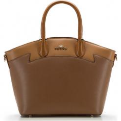 Torebka damska 85-4E-448-5. Brązowe torebki do ręki damskie Wittchen, w paski. Za 529.00 zł.