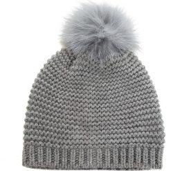 Czapka MARELLA - Truppa 65760185  004. Szare czapki i kapelusze damskie Marella, z materiału. Za 329.00 zł.