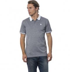 Koszulka polo w kolorze szaro-białym. Białe koszulki polo męskie Roberto Cavalli, Trussardi, z haftami. W wyprzedaży za 319.95 zł.