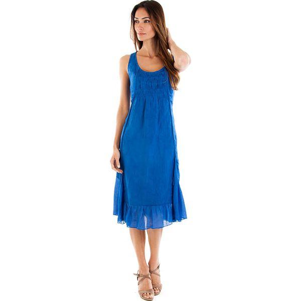82ac134069 Lniana sukienka