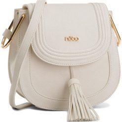 Torebka NOBO - NBAG-C0350-C000 Biały. Białe listonoszki damskie Nobo, ze skóry ekologicznej. W wyprzedaży za 149.00 zł.