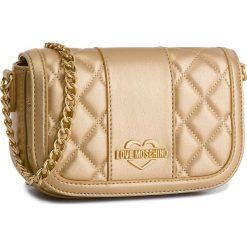 Torebka LOVE MOSCHINO - JC4013PP16LB0901 Oro. Żółte torebki do ręki damskie Love Moschino, ze skóry ekologicznej. W wyprzedaży za 499.00 zł.