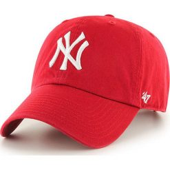 47brand - Czapka New York Yankees. Czerwone czapki i kapelusze męskie 47brand. Za 99.90 zł.