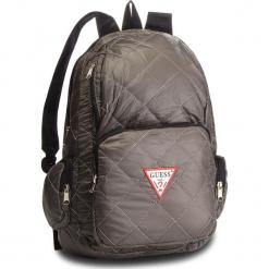 Plecak GUESS - HM6526 NYL84  GRY. Szare plecaki damskie Guess, z aplikacjami, z materiału. Za 279.00 zł.