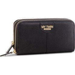 Duży Portfel Damski MY TWIN - Zip Around Do RA8TEU Nero 00006. Portfele damskie marki My Twin. W wyprzedaży za 249.00 zł.