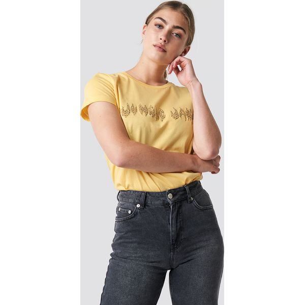 6d25543ad3 Moves T-shirt Lulu - Yellow - T-shirty damskie marki Moves. W ...