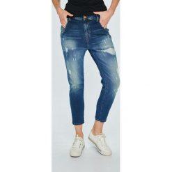 Diesel - Jeansy Fayza. Niebieskie jeansy damskie Diesel. W wyprzedaży za 899.90 zł.