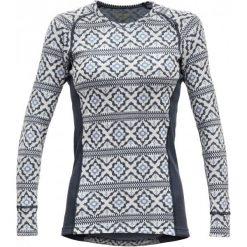 Devold Bluzka Damska Ona Woman Shirt, Night, S. Szare koszulki sportowe damskie Devold, z długim rękawem. Za 369.00 zł.