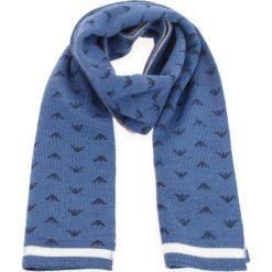 Szalik EMPORIO ARMANI - 404359 8A509 00034   Aviaton Blue. Szare szaliki i chusty damskie marki Giacomo Conti, na zimę, z tkaniny. W wyprzedaży za 269.00 zł.