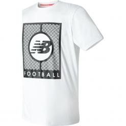 Koszulka treningowa MT732053WT. Szare koszulki sportowe męskie New Balance, na jesień, z materiału. W wyprzedaży za 69.99 zł.