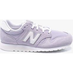 New Balance - Buty WL520LL. Szare obuwie sportowe damskie New Balance, z gumy. W wyprzedaży za 259.90 zł.