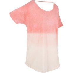 T-shirt batikowy, krótki rękaw bonprix jasny koralowy. T-shirty damskie marki DOMYOS. Za 44.99 zł.