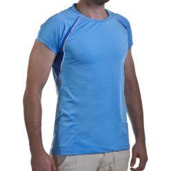 Koszulka damska ASICS - W's Ss Crew Top 322222 8097 L. Niebieskie t-shirty damskie Asics, z elastanu. Za 149.00 zł.