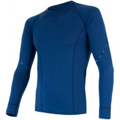 Sensor Koszulka Termoaktywna Z Długim Rękawem Merino Air M Blue Xxl. Niebieskie koszulki sportowe męskie Sensor, z materiału, z długim rękawem. Za 215.00 zł.