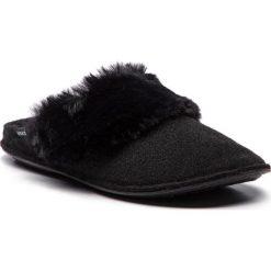 Kapcie CROCS - Classic Luxe Slipper 205394 Black. Czarne kapcie damskie Crocs, z materiału. Za 179.00 zł.