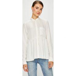 Review - Koszula. Szare koszule damskie Review, z materiału, casualowe, z klasycznym kołnierzykiem, z długim rękawem. Za 149.90 zł.