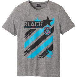 T-shirt Slim Fit bonprix szary melanż. T-shirty męskie marki Giacomo Conti. Za 24.99 zł.